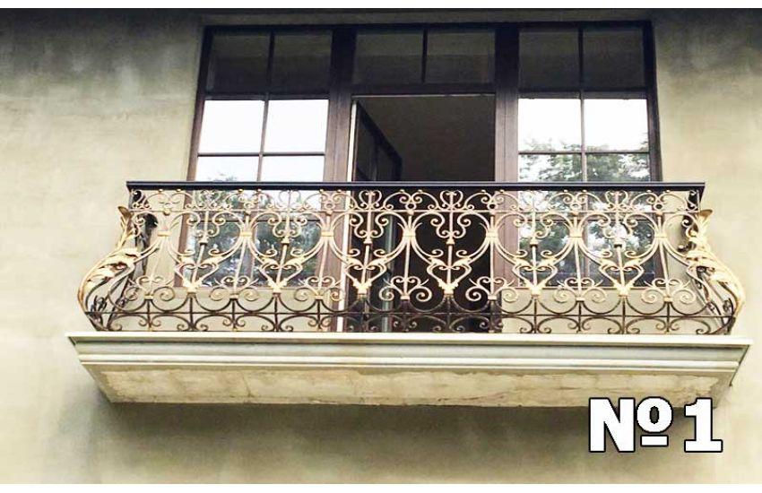 Ограждение балкона фото