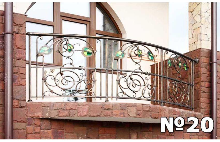 Ограждение балкона бронницы