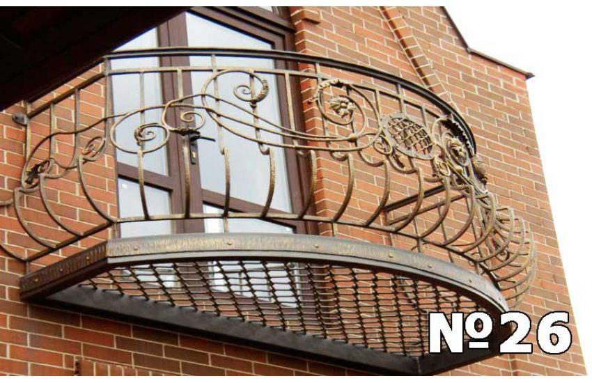Ограждение балкона Электросталь