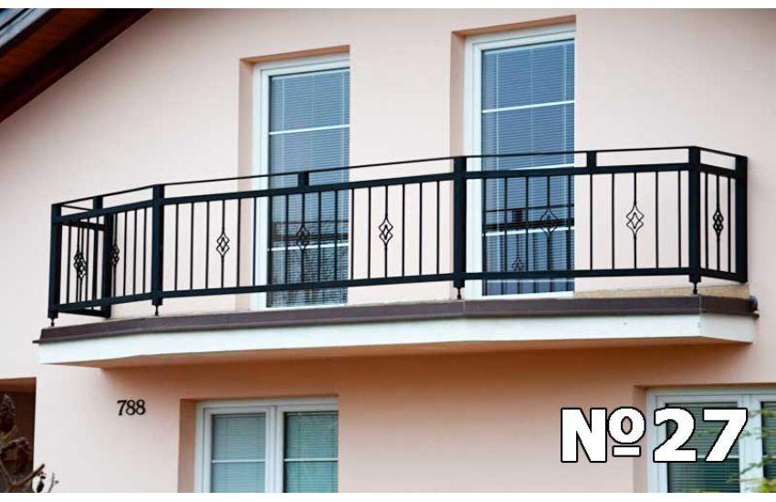 Ограждение балкона Павловский посад