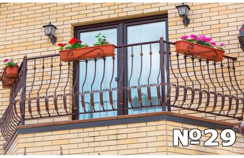 Ограждение балкона Видное