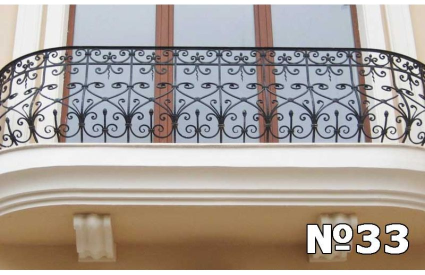 Ограждение балкона Электроугли