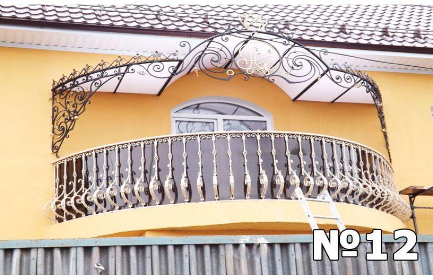 сделать навес над балконом