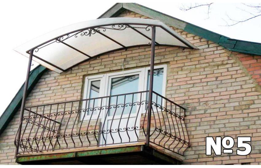 навесы балконы фото