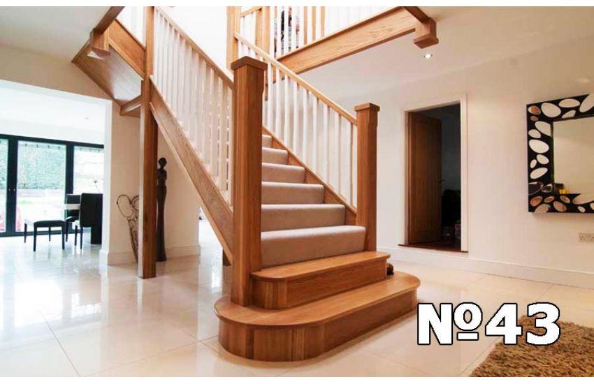 Монтаж деревянных лестниц Бронницы