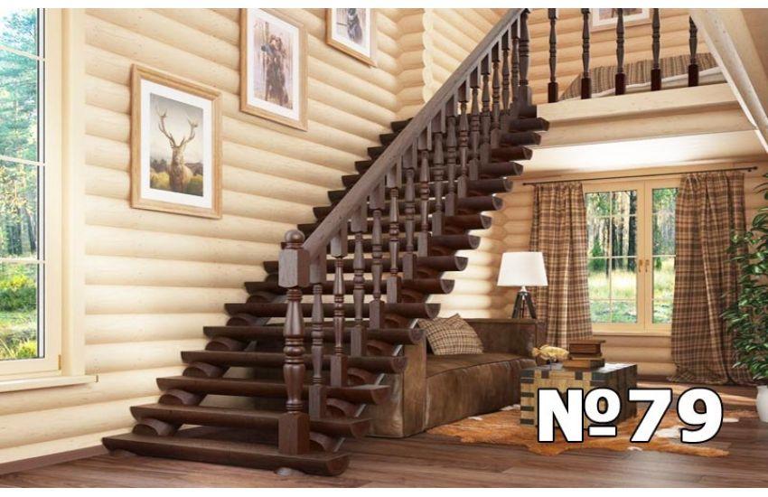 деревянная лестница для дачи домодедово