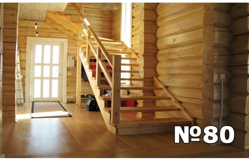 деревянная лестница для дома домодедово цена
