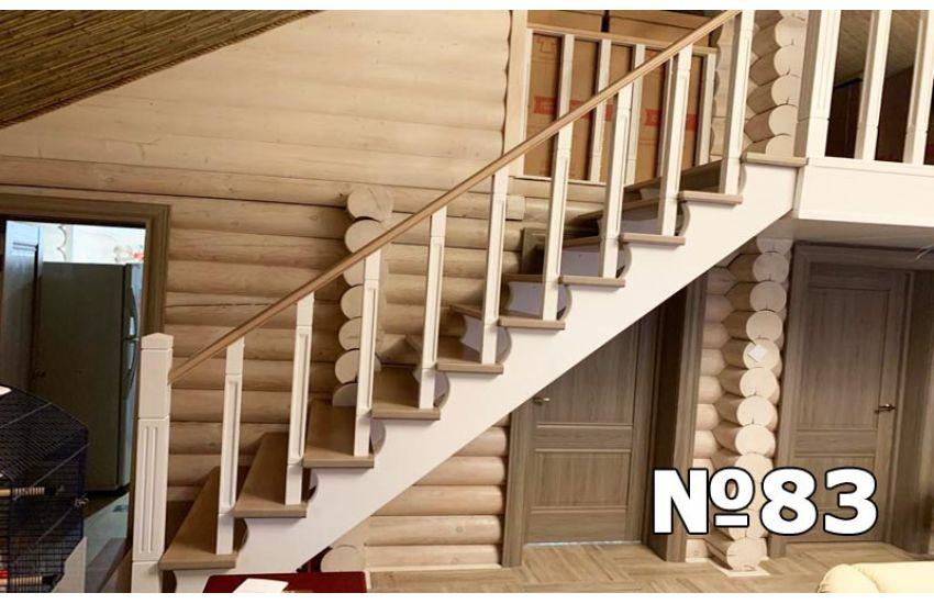 деревянная лестница для дома домодедово с установкой
