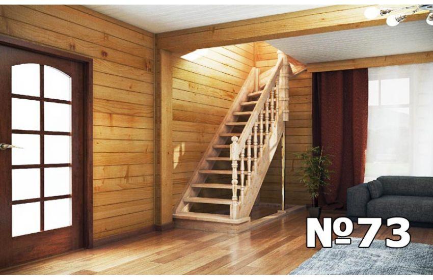 установка деревянных лестниц домодедово