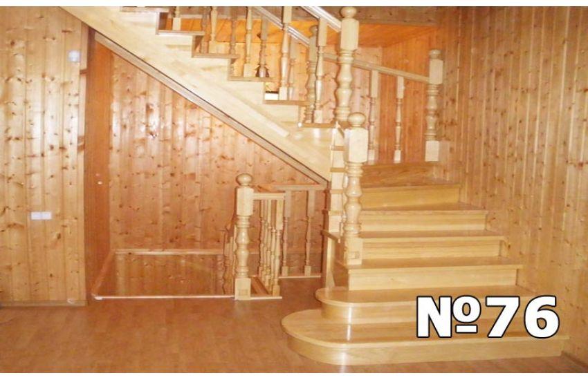 деревянная лестница домодедово цена под ключ
