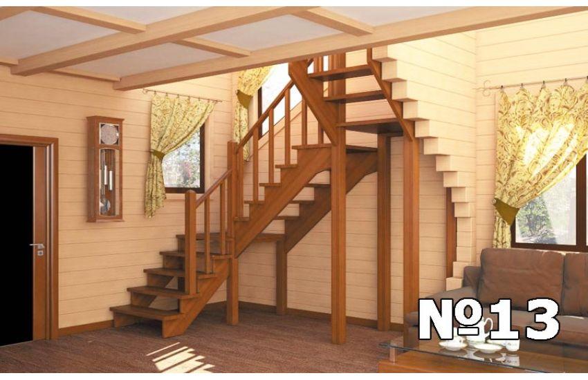 деревянные лестницы дома цены