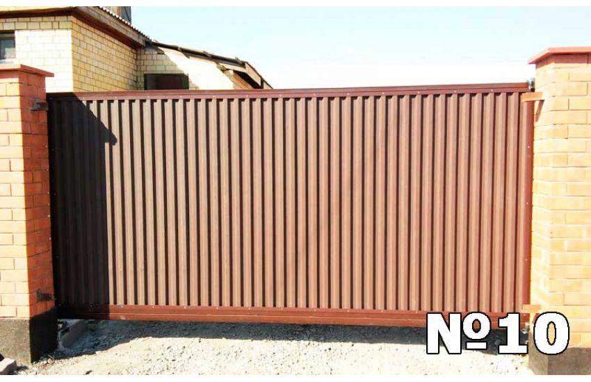 Ворота откатные с электрическим приводом в домодедово