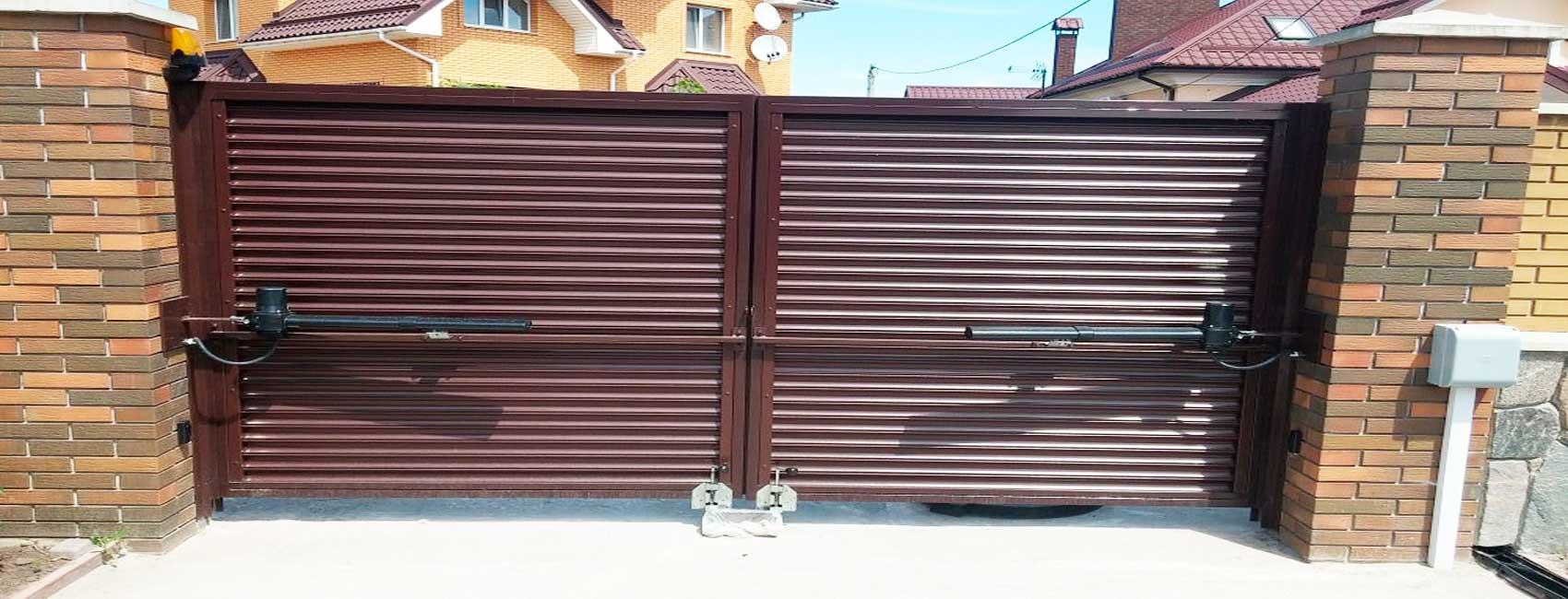 Автоматические ворота в Домодедово
