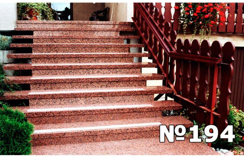 гранитная лестница фото