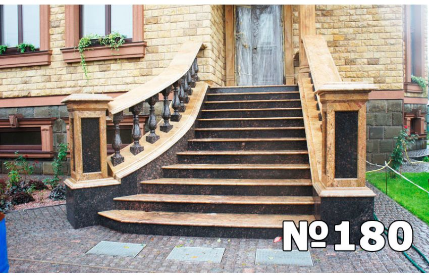 гранитные ступени для лестниц купить