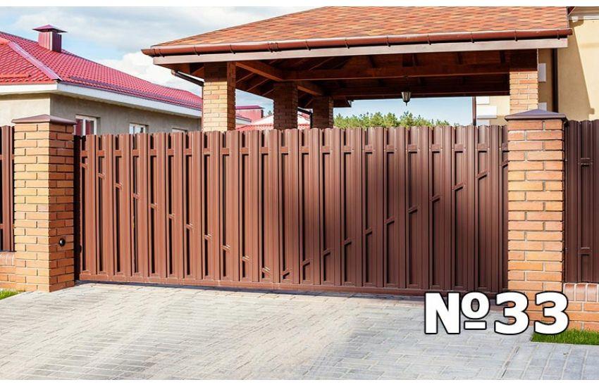 монтаж откатных ворот в климовске