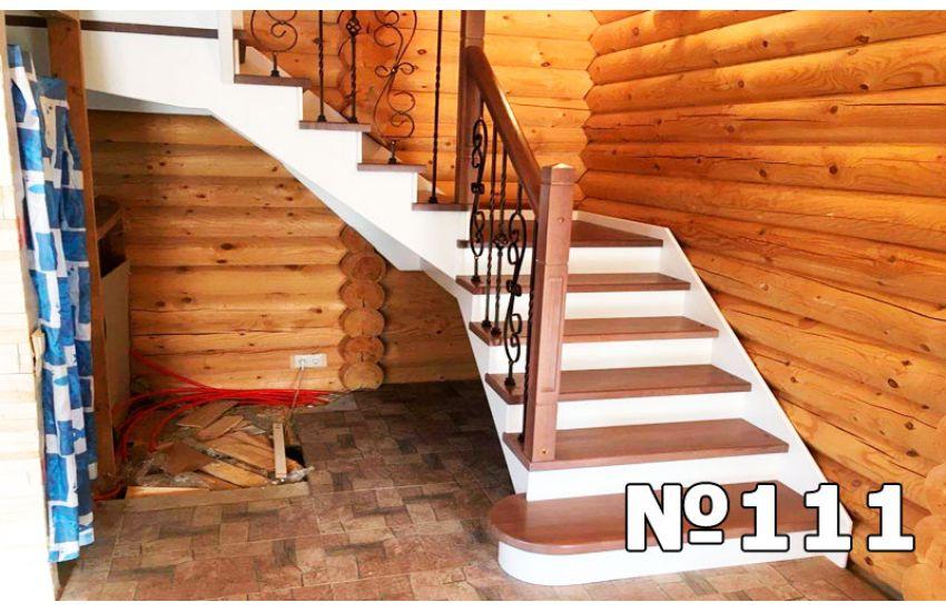 комбинированные лестницы дома