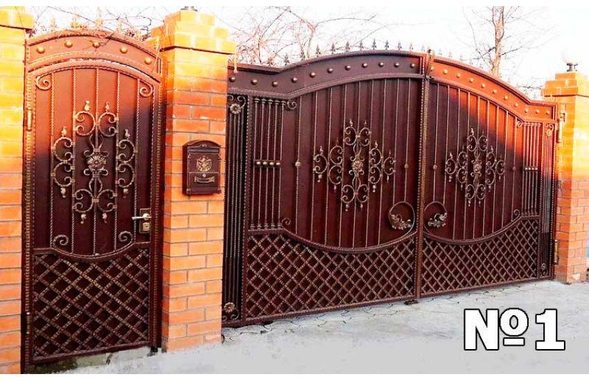 Кованые ворота в Раменском