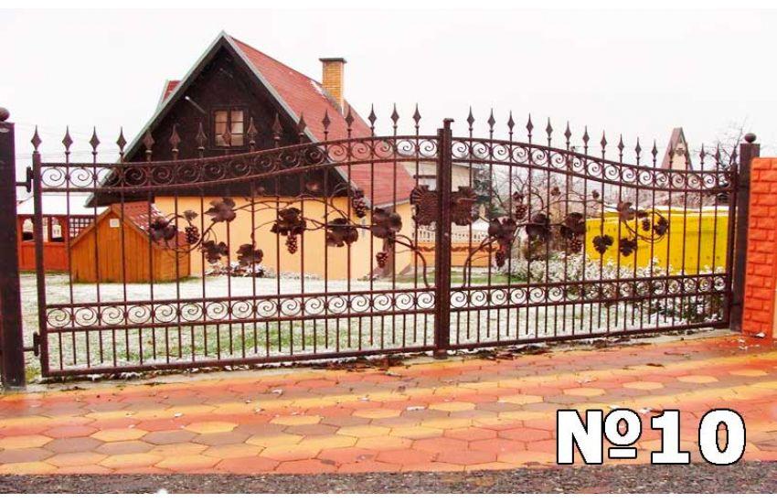 Кованые ворота в Воскресенске
