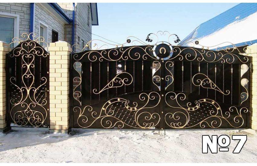 Кованые ворота недорого в Павловском Посаде
