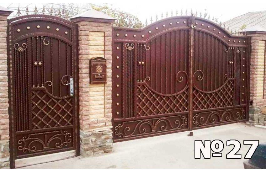 Кованые ворота Мытищи