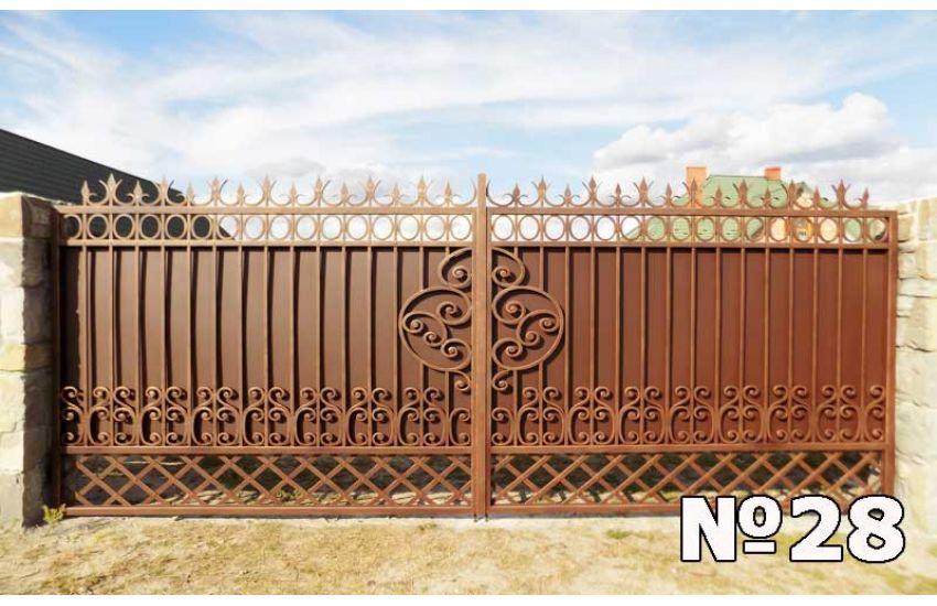 Кованые ворота Химки