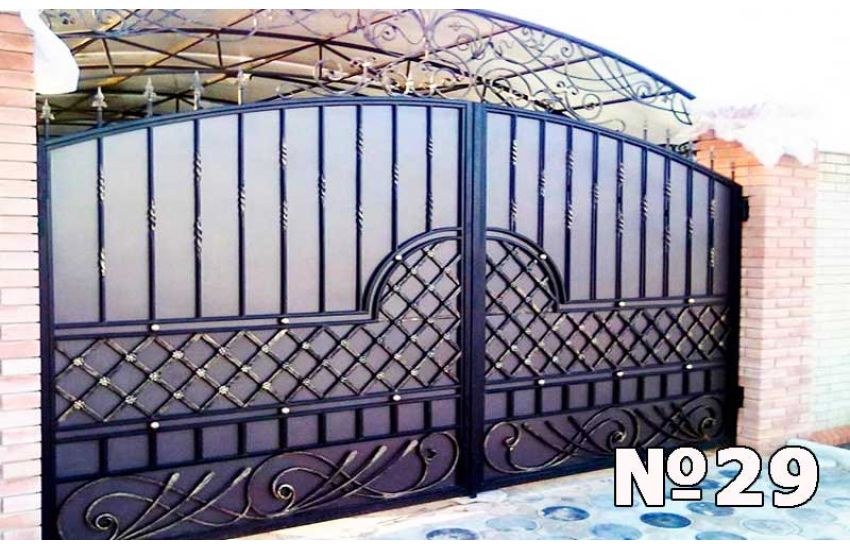 Кованые ворота в Реутове