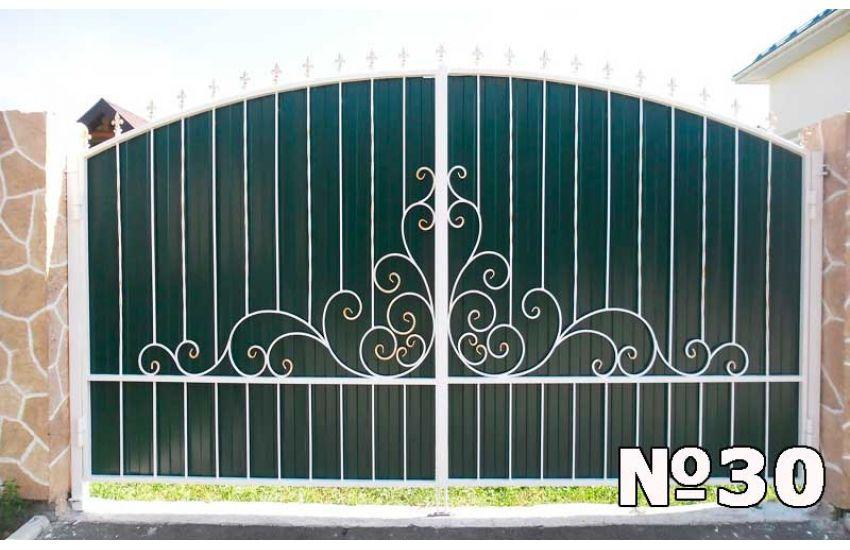 Кованые ворота в Подольске