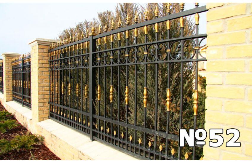 кованые заборы для частного дома своими руками