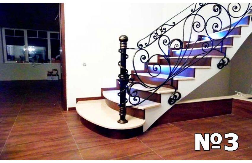 Кованые лестница и перила