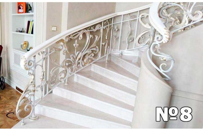 Кованые лестница и перила недорого
