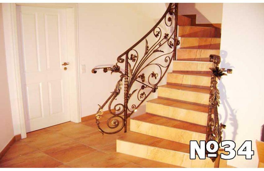 Кованая лестница фото