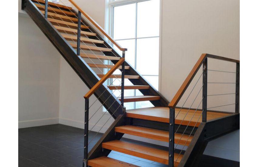 ограждения лестниц маршевых