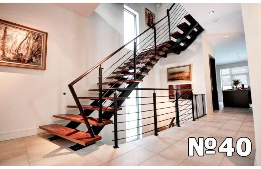 лестницы маршевые площадки ограждения