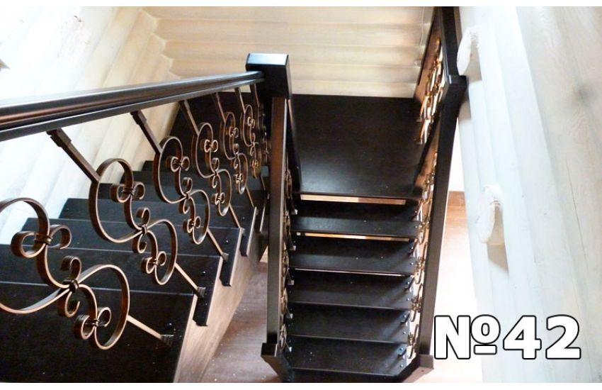 лестницы маршевые площадки и ограждения стальные
