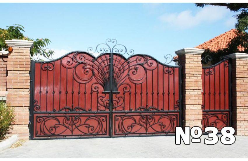 металлические ворота Раменское
