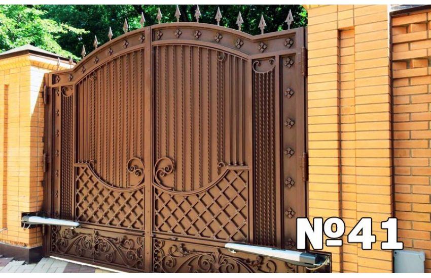 купить металлические ворота