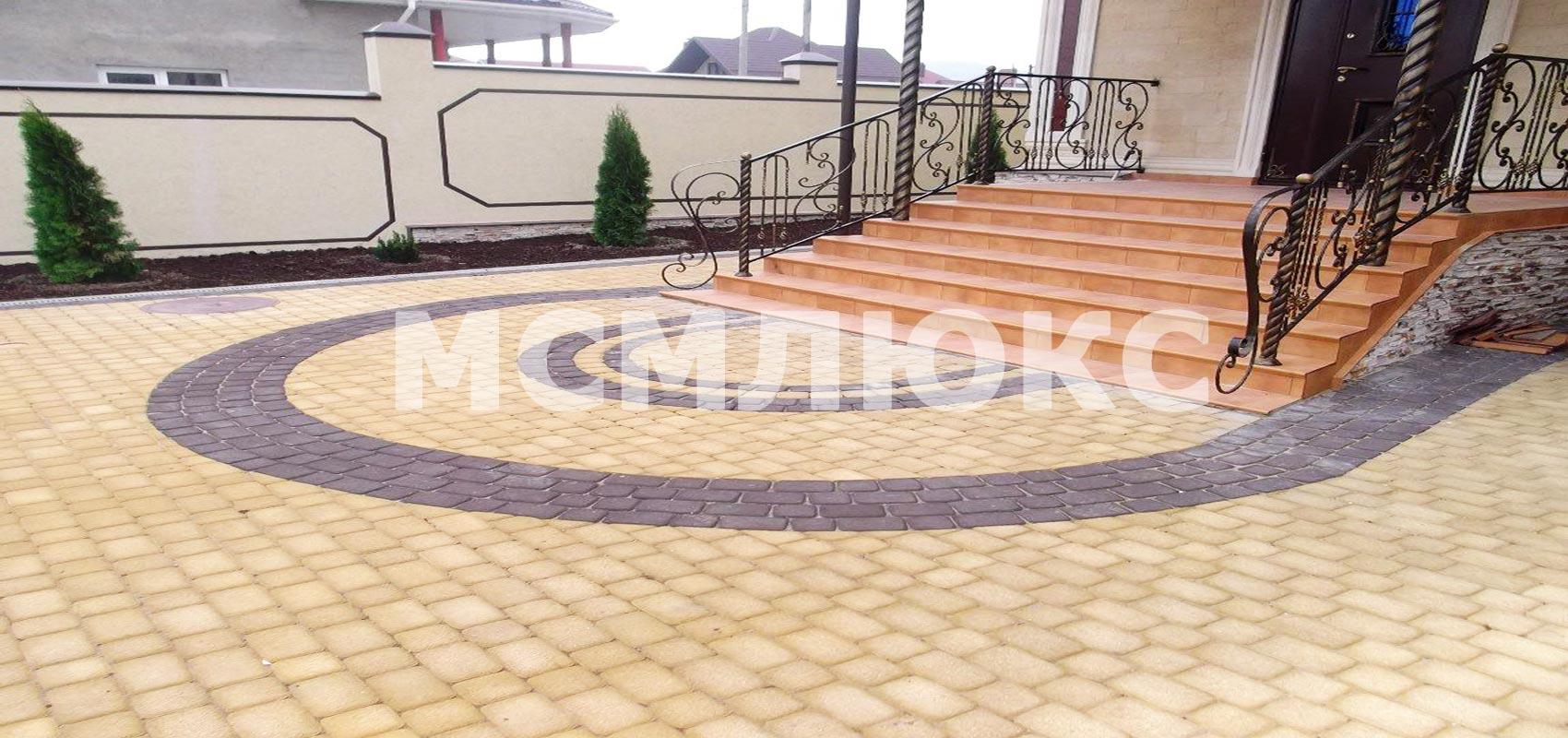 укладка тротуарной плитки цена московская область