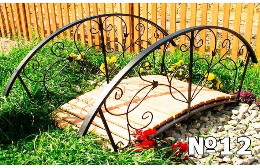 кованые мостики для сада купить