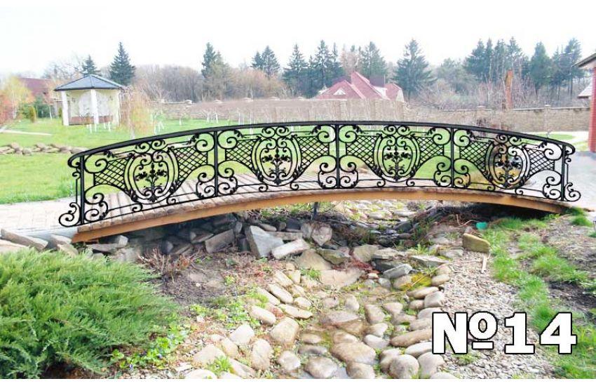 садовые кованые мостики цена