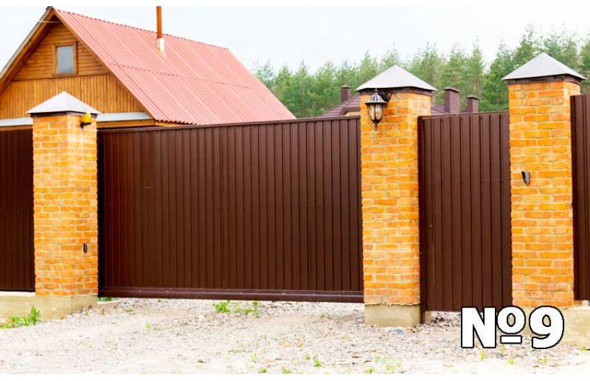 откатные ворота павловский посад фото
