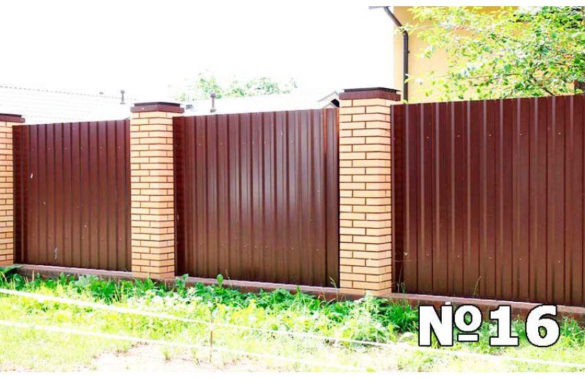 забор из профнастила подольск