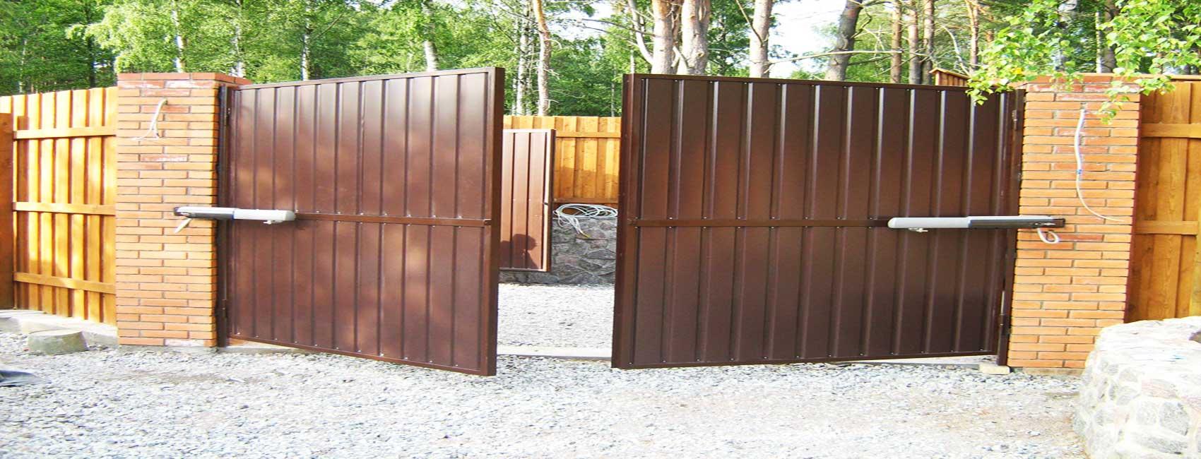 Ворота в Жуковском