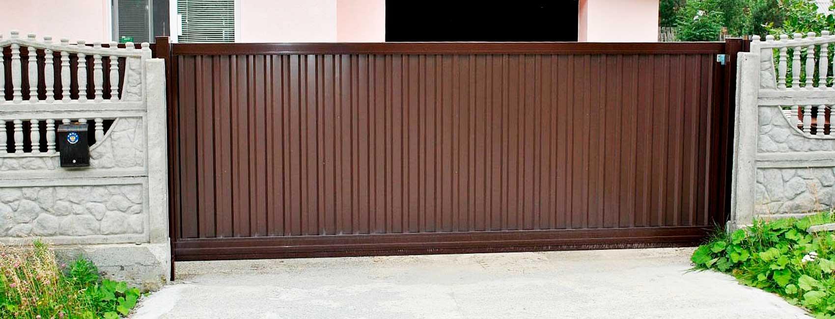 Откатные ворота Бронницы