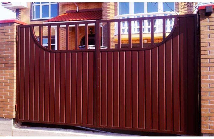 Распашные ворота в Люберцах