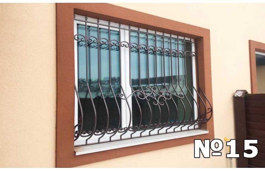 кованые решетки на окна фото и цена