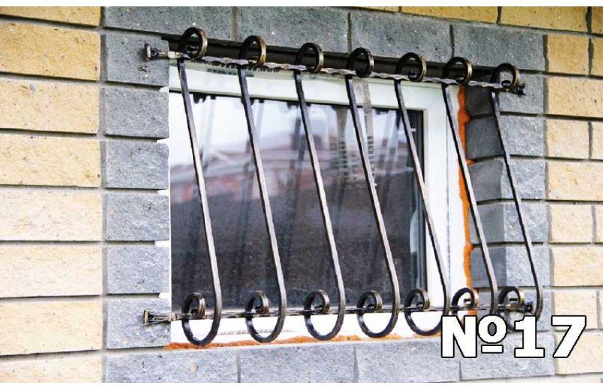 кованые решетки на окна фото и цены
