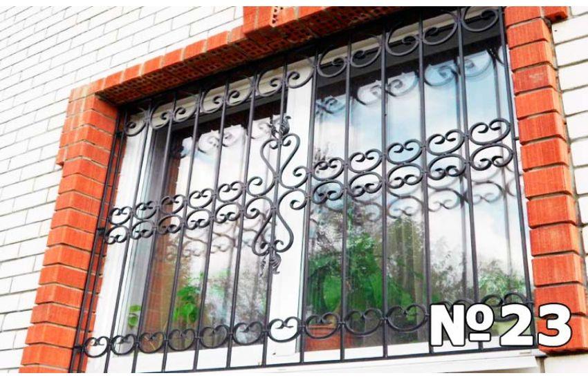 кованые решетки на окна эскизы