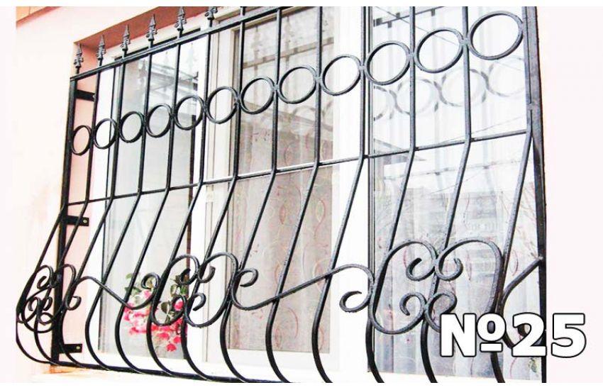 кованые решетки на окна москва