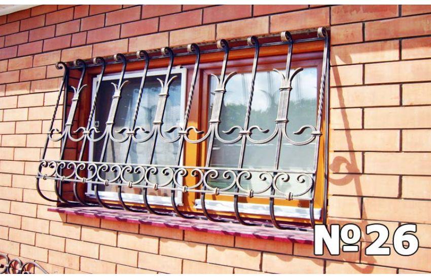 решетки на окна сварные кованые